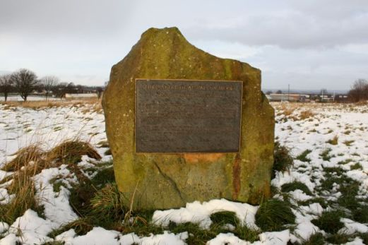 Battle Plaque at Adwalton Moor