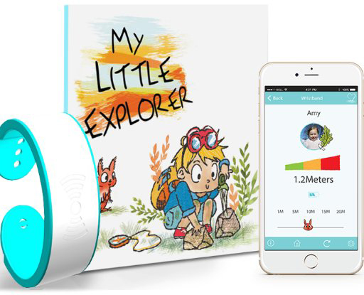 My Little Explorer device, book and app