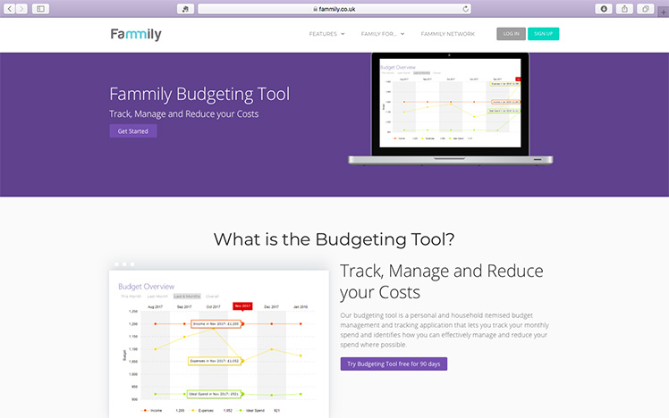 Fammily Budgeting Tool