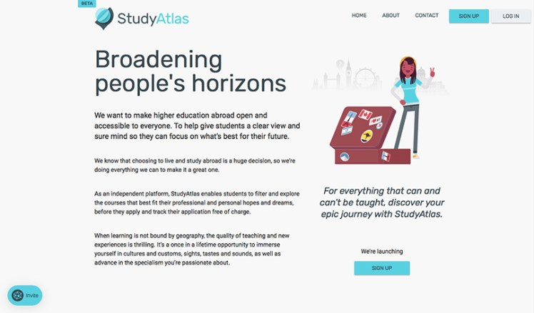 Sign up for StudyAtlas