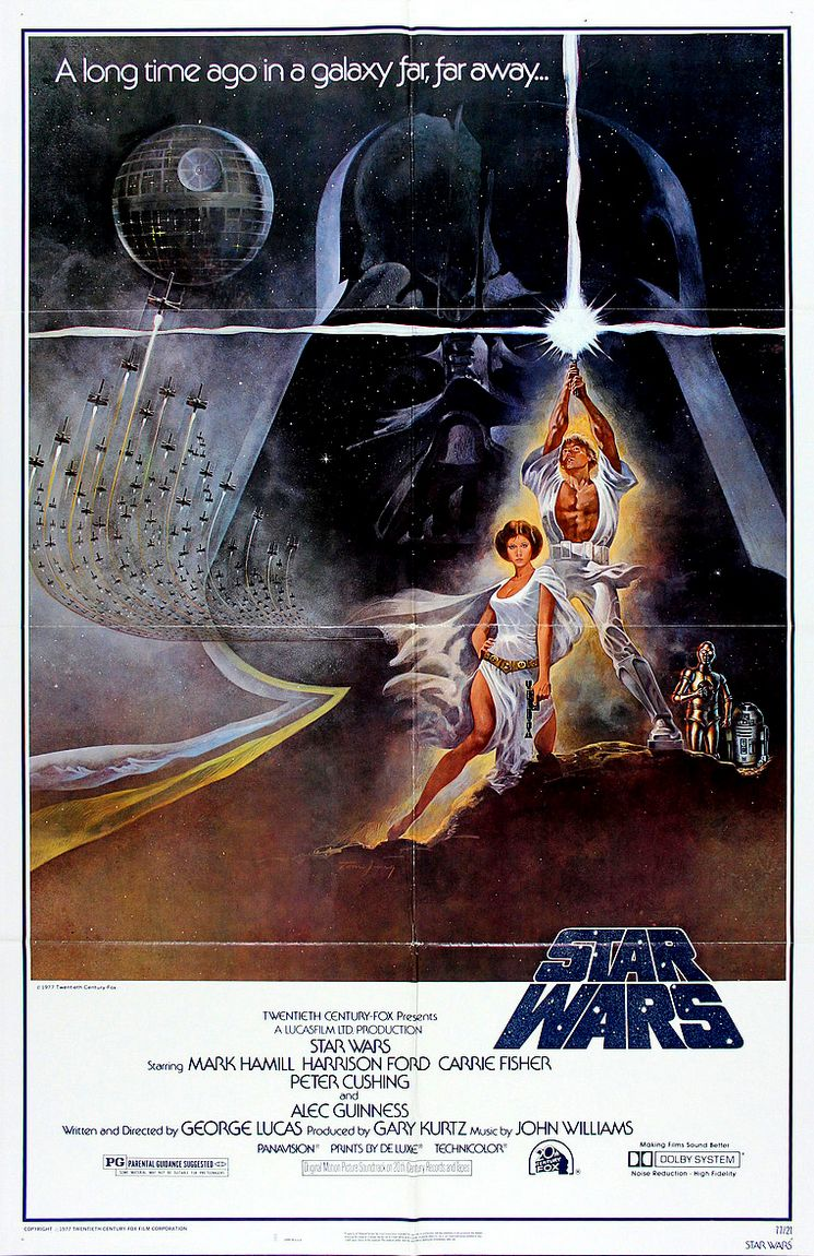 Star Wars Episode Iv A New Hope 1977 Celluloid Paradiso