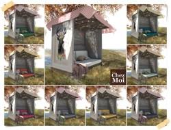 Oh Deer Garden Bench Colors CHEZ MOI