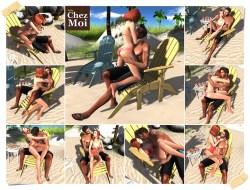 Summers Set Couple Poses CHEZ MOI
