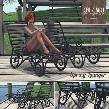 RFL Spring Lounger CHEZ MOIb