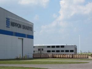 Nippon Sharyo plant in Rochelle / Photo: John Greenfield