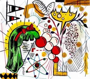 Illustration by Tony Fitzpatrick