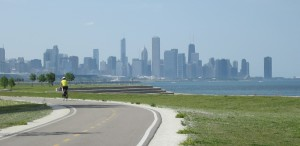 Chicago's south lakefront. Photo: John Greenfield