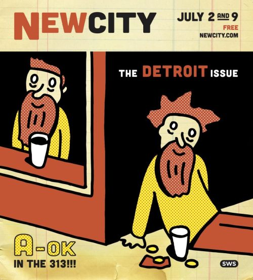 Illustration by Detroit's own Stephen Schudlich