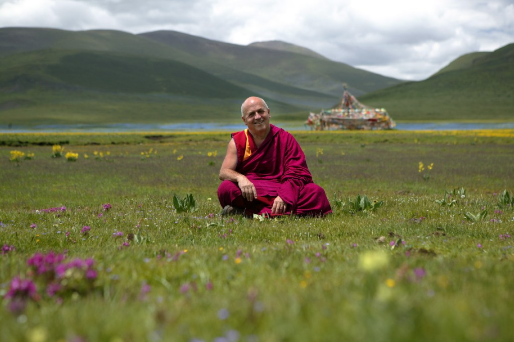 tthieu Ricard, a Buddhist monk, author, translator, and photographer