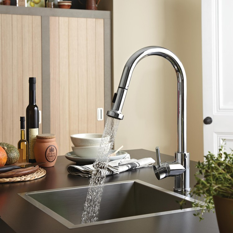 Bristan Professional Sink Mixer with Pull Out Spray