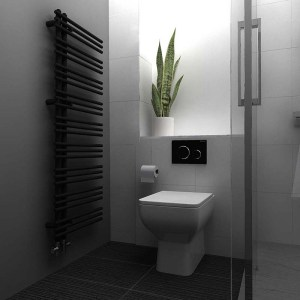 Contemporary Back-to-Wall Toilets