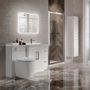 Combination bathroom furniture from Highlife