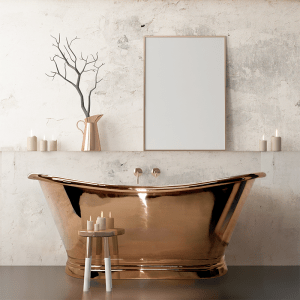 Copper Boat Baths from BC Designs