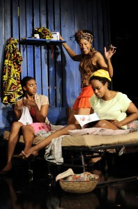 (l to r) Condola Phyleia Rashad (Sophie),      Cherise Boothe (Josephine) and Quincy Tyler Bernstine (Salima)