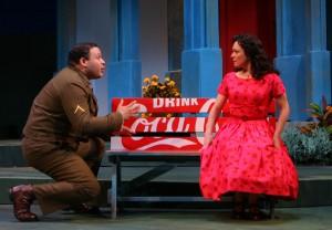 Joe Minoso and Elizabeth Ledo/Photo: Eric Y. Exit