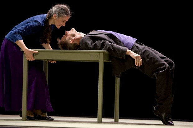 Baryshnikov and Laguna in Place (Stalle)/Photo: Benght Wanselius