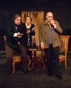 Sean Benjamin, Carolyn Shoemaker-Benajmin, Steve Mosqueda/Photo: Gosia Matuszewska