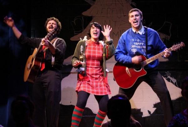 Nick Curatolo,      Analisha Santini,      and David Kaplinsky/Photo: Stephanie Vera
