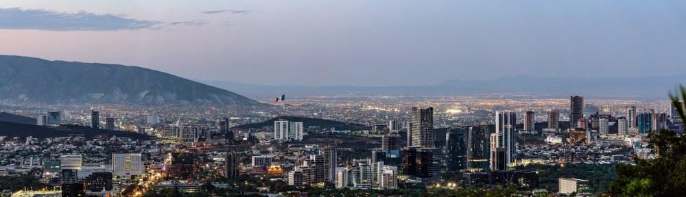 Vista panorámica de Monterrey