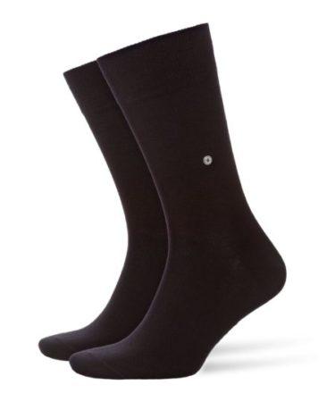 Burlington anthra.mel 2-pack Everyday heren sokken