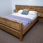Bodmin High End Bed Frame Chunky Solid Rustic Pine Wood With Headboard All Sizes Available Free Uk Delivery Newco Interiors Bespoke Joinery Made To Measure