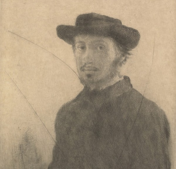 Edgar Degas Private Impressionist Newcomb Art Museum