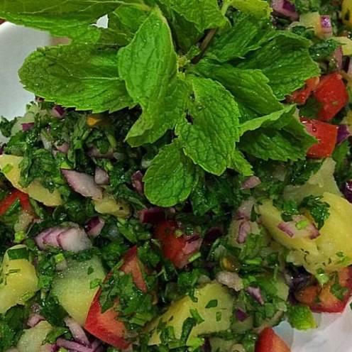 Salatet Batata سلطة بطاطا