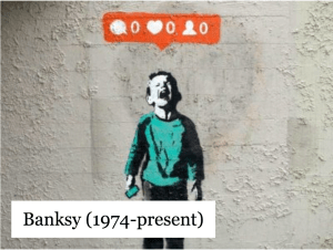 Banksy (1974-present)