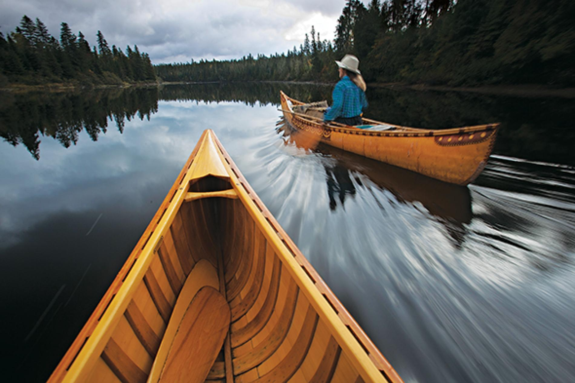 Canoe Paddle and History