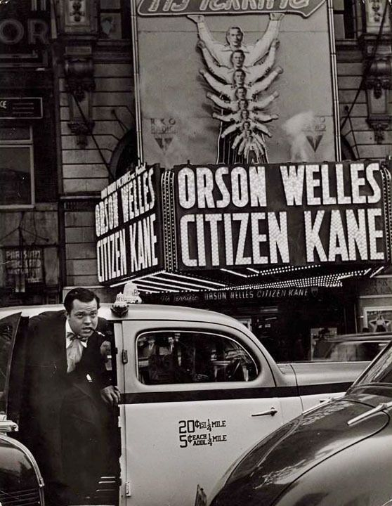 Orson Welles-Citizen Kane, 1941 -by W. Eugene Smith