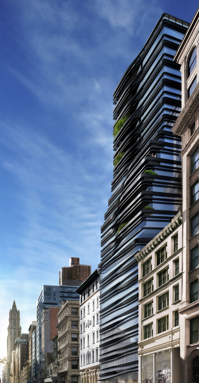 5 Franklin Place  Tribeca condos for sale