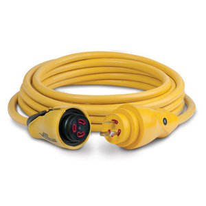 12v wiring diagram for boats free marine shore power west 25 eel shorepower cordset 30a 125v yellow