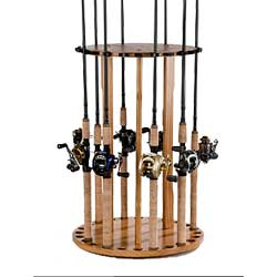 folding chair fishing pole holder cover hire jersey channel islands rod storage racks west marine spinning round floor rack organized
