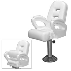 Boat Captains Chair Office Depot Mesh Todd Miami Upholstered Flip Up Helm West Marine