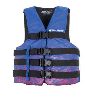 Men's Nylon Water Ski Life Jackets