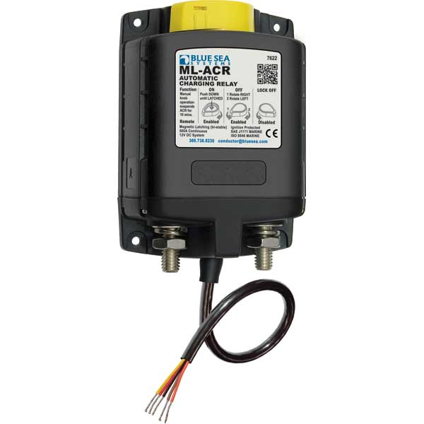 blue sea mini add a battery wiring diagram horse muscle and bone systems ml acr automatic charging relay with manual control 500a