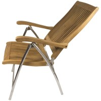 SEATEAK Windrift Teak Folding Deck Chair | West Marine