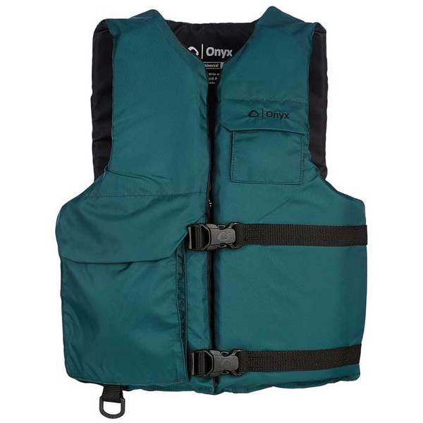 Onyx Universal Sport Vest, Green, Oversize