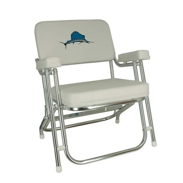 heavy duty aluminum sports chair china mall covers springfield folding deck | west marine