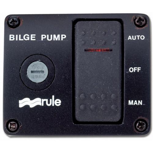 Rule 3 Way Bilge Pump Rocker Switch Wiring