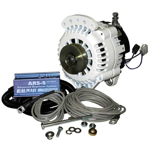 Battery Wiring Diagram Balmar Volvo Atomic 4 Engine 70 Amp 12 Volt Alternator