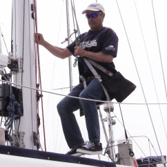 West Marine Chairs Folding Sling Chair Canada How To Climb Your Sailboat Mast With A Bosuns