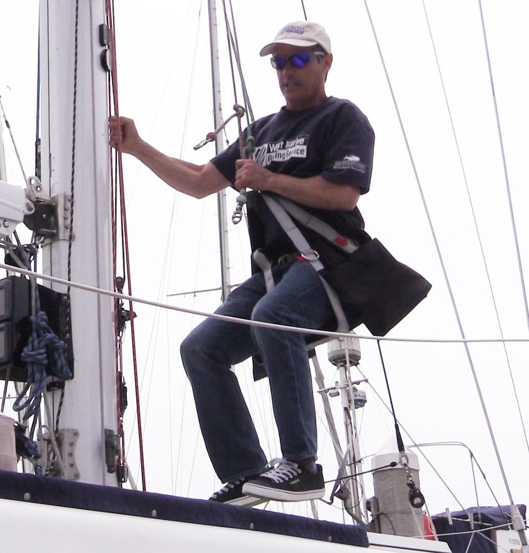 Bosun Chair How To Climb Your Sailboat Mast With A Bosuns Chair West
