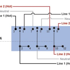 Rotary Switch Wiring Diagram Goat Intestines 3 Position Blue Sea Systems Ac Source Selection Panels West Marinewiring Schematic