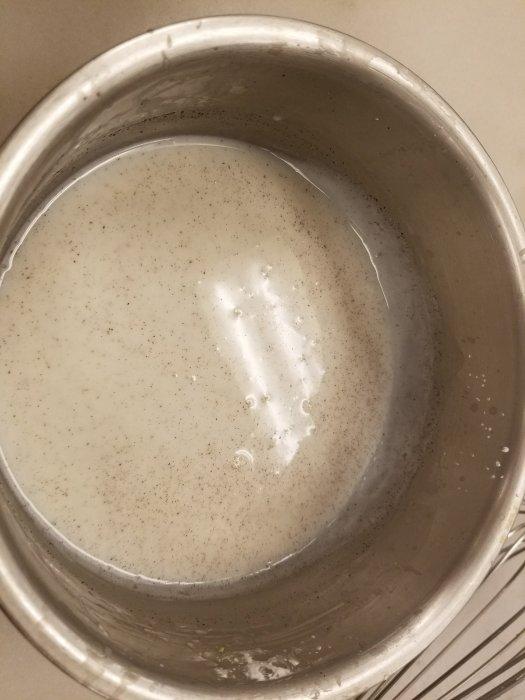Pastry cream recipe