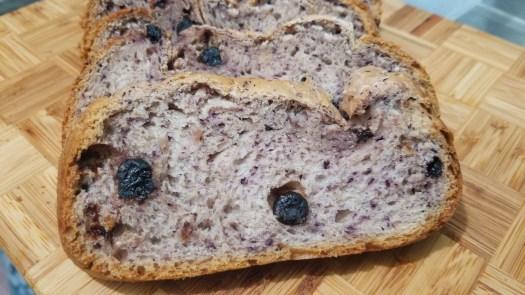 Easy Bake Blueberry Loaf