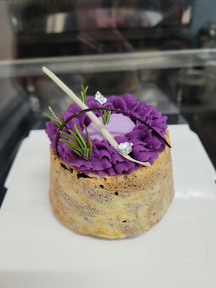 日本紫薯米戚風