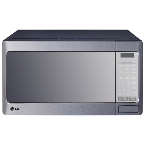 lg 1 1 cu ft countertop microwave oven with moisture keeper lmc1195st