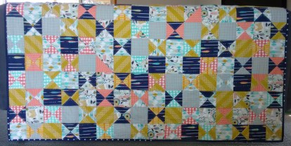 Cotton and Steel Quilt August 2015