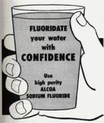fluoridated water